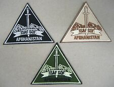 Set 3 Toppe/Patch dotazione S.O.F. TASK FORCE 45 - ISAF-AFGHANISTAN (Originali)