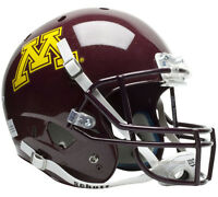 MINNESOTA GOLDEN GOPHERS SCHUTT XP FULL SIZE REPLICA FOOTBALL HELMET