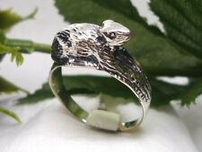 Ratte 925 Sterling Silber Ring Rattenring Tiere rat silver ring