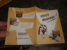 Publicité SOYEZ MODERNE / Café Nescafé
