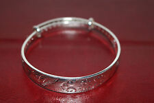 "Adjustable Bangle with ""Fortune"" Chinese words carved inside out, VERY NICE"
