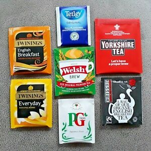 Tea Bags Enveloped  Mix + Match Freshness Sealed FREE UK POSTAGE