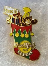 HARD ROCK CAFE SEOUL CHRISTMAS STOCKING FILLED WITH PRESENTS PIN # 8604