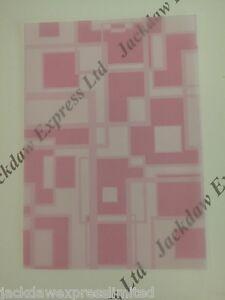 Pink Transluscent Vellum 25xA4 100gsm Inkjet & Laser Printer Compatible AM514