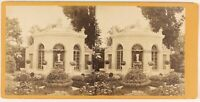 Kiosque Architettura Foto Stereo PL48L3n Vintage Albumina c1875