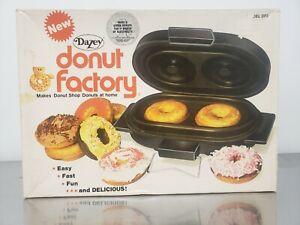 Dazey Donut Factory - Model D2F - Still Sealed