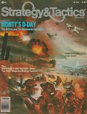 Strategy & Tactics S&T#102   Monty's D-Day Tactical Game of Normandy Unpunched