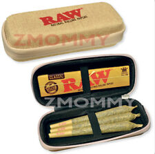 RAW CONE WALLET - ZIPPER CASE HOLDS KING SIZE PRE-ROLLS/Rolling Paper Packs