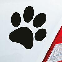 Auto Motorrad Aufkleber Sticker Hundepfote Pfote Hund Fote Tatze 10x11 cm 294