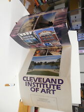Cleveland Ohio Institute Of Art Fold-Out Poster Registration Catalog Request