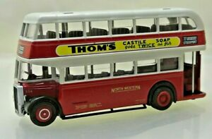 EFE 16007 Leyland Titan PD2 Lowbridge Double Deck Bus - North Western Scale 1:76