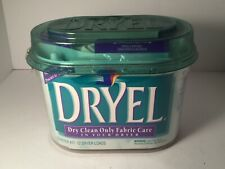 💚 Dryel Dry Clean Only Fabric Care Starter Kit 48 Garments / 12 Dryer Loads New