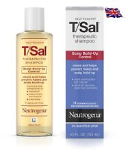 Neutrogena T/Sal Shampoo Scalp Build-Up Control, 4.5Oz