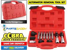13 PC Alternator Freewheel Pulley Removal Socket Bit Set Service Tool Kit (6-33)