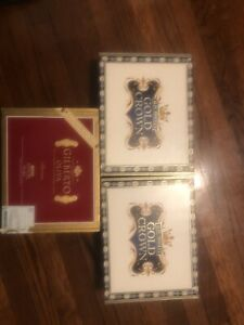 Cigar Box Lot Of 3 Wood