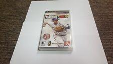 Major League Baseball 2K10  (PlayStation Portable, 2...