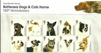 GB Presentation Pack 438 2010 BATTERSEA CATS & DOGS HOME