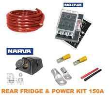DUAL BATTERY SYSTEM REAR FRIDGE SOCKET POWER & REAR 4WD POWER KIT COMPLETE