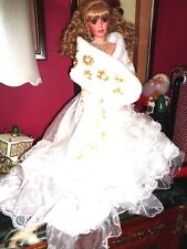 "WINTER BLISS GORGEOUS SPECIAL EDITION RUSTIE DOLL  26"" PRISTINE WITH OWN STAND"