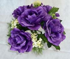 Rosenstrauß  Seidenblumen - Blumenstrauß violett