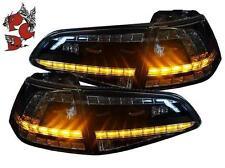 LED RÜCKLEUCHTEN HECKLEUCHTEN VW GOLF 7 VII 13+ SCHWARZ GTI-LOOK RÜCKLICHTER