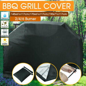 Waterproof BBQ Cover 2/4/6 Burner Outdoor Gas Charcoal Barbecue Grill Protector