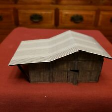 Handmade Lean To Barn/Building - High Glass PAPER - 1 1/2