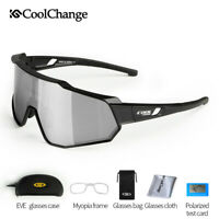 Outdoor Polarized Cycling Glasses Bicycle Sport Sunglasses Eyewear Goggles UV400