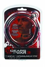 10 Lot of NEW GEARS of WAR 3 Throat Communicator for Xbox 360 From MAD CATZ
