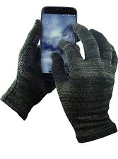 Touch Screen Friendly Glider Gloves Black Size Large Great iPhone Friendly Glove