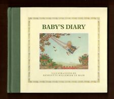Baby's Diary Henriette Willebeek Le Mair Hardbook Book Philomel