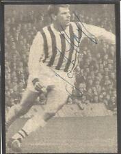 Football Autograph John Kaye Signed Newspaper Picture & Bio Sheet F491