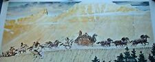 "Norman Rockwell ""Stagecoach"" Print (Us Mail) -Free Shipping & Insurance-"