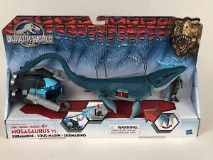 Jurassic World Mosasaurus VS Submarine Underwater Dinosaur Creature New