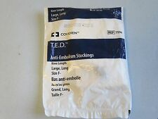 Covidien T.E.D. Anti-Embolism Stockings Knee Length Large Long F- REF 7594