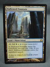 MTG Magic the Gathering Card X1: Hallowed Fountain - Return to Ravnica EX/NM