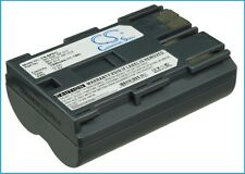 7.4V battery for Canon EOS D60, ZR10, IXY DVM, MV530i, Optura 10, MVX2i, MV550i