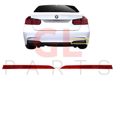 FOR BMW 3 SERIES F30 F31 F35 M Sport 11-17 REAR BUMPER RED REFLECTOR PAIR SET