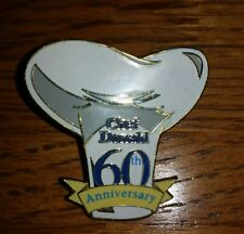 Wdcc Disney 60th Anniversary Cartoon Chef Donald Duck Cooking Hat Le Pin