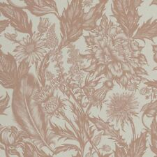 Crown Alexis Floral Flower Luxury Rose Gold Glitter Vinyl Wallpaper M1380