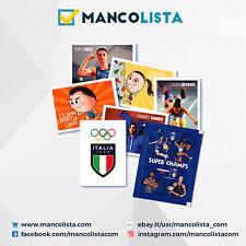 ESSELUNGA SUPER CHAMPS ITALIA OLIMPIADI TOKYO 2020 FIGURINE A SCELTA MANCOLISTA