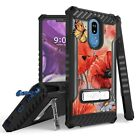 Military Grade Certified Anti-Shock Case w/Stand Cover for LG Stylo 5
