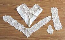 Antique Victorian/Edwardian Lace Collar Set of 4