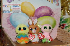 Ty Easter Basket Beanie Boo Boos 2014 Set of 3 Babs Carrots Tweet and MWMT 08645a1d3f56