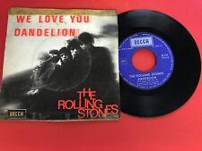 DISQUE VINYLE 45T : Rolling Stones - We love you - Dandelion