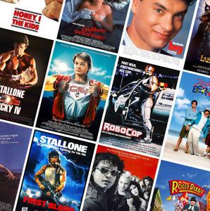 80s VINTAGE CLASSIC MOVIE POSTERS PRINTS - Big, Conan, Rocky, Lost Boys - part 2