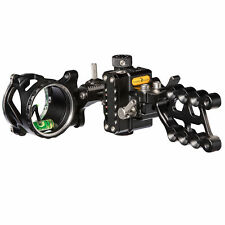 NEW 2019 Trophy Ridge React ALPHA 1 One Pin Bow Sight Black W/ Light Right Hand