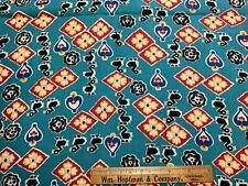 Vintage Cotton Fabric 40s50s CUTE Ducks Novelty 36w 1 yd