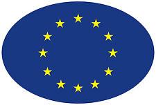 8x11,8 cm pegatinas Europa oval auto pegatinas auto moto styling car sticker