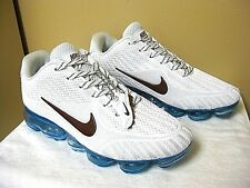 NEW NIKE VAPORMAX FLYKNIT White Running Shoes Sneakers Women's Size 10